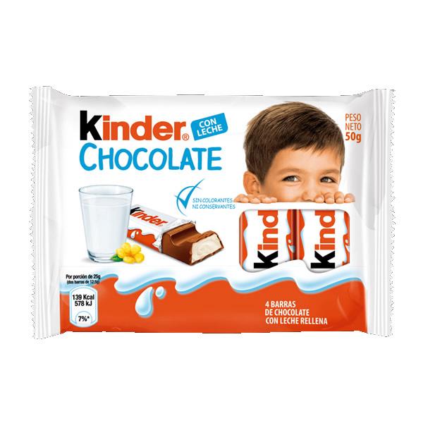 C/U KINDER CHOCOLATE 20 X 50g.x4u